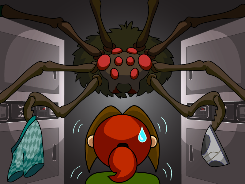 43 – Laundry Spider Part 2